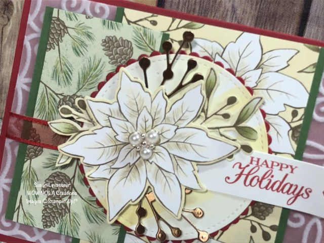 Poinsettia Place Suite, Susan Levasseur, WOW NOLA Creations, Stampin' Up!