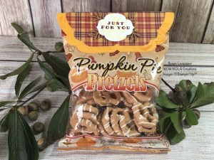 Fall Treat Bag Topper