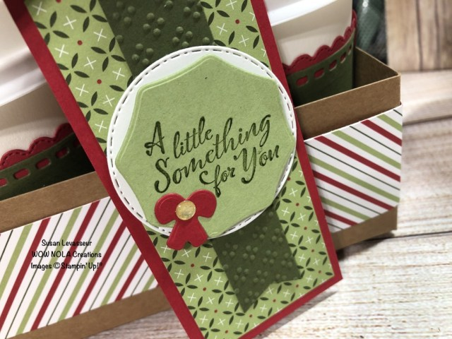 Heartwarming Hugs, Mini Coffee Carrier,  Susan Levasseur, WOW NOLA Creations, Stampin' Up!