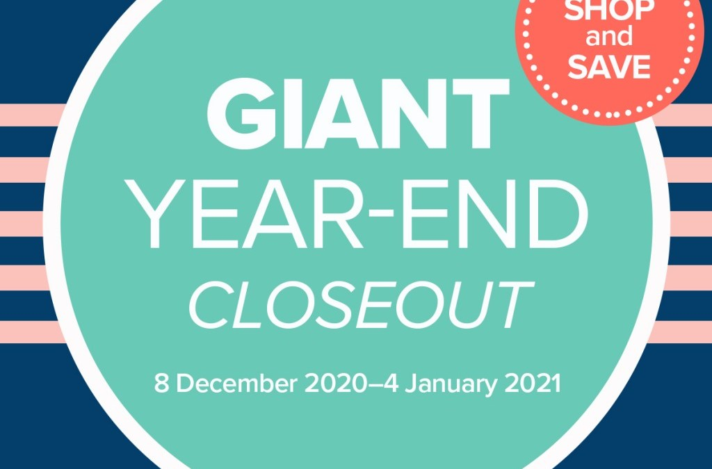 Giant Year-End Closeout