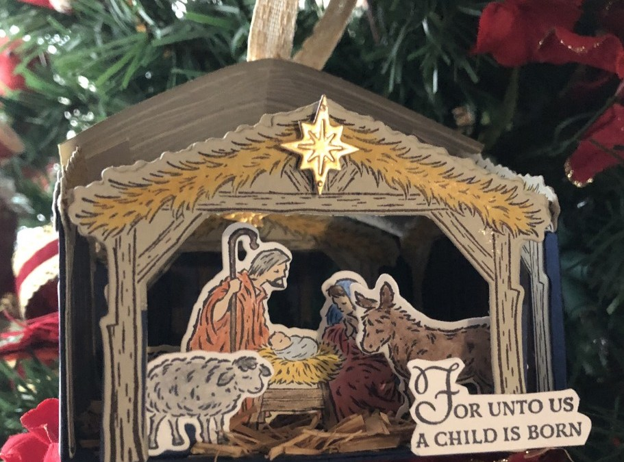 Peaceful Nativity Keepsake Ornament 2020