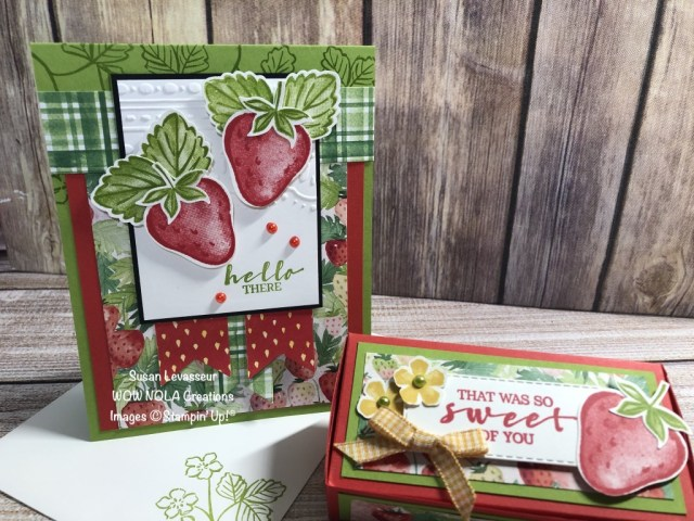 Berry Delightful, Susan Levasseur, WOW NOLA Creations, Stampin' Up!