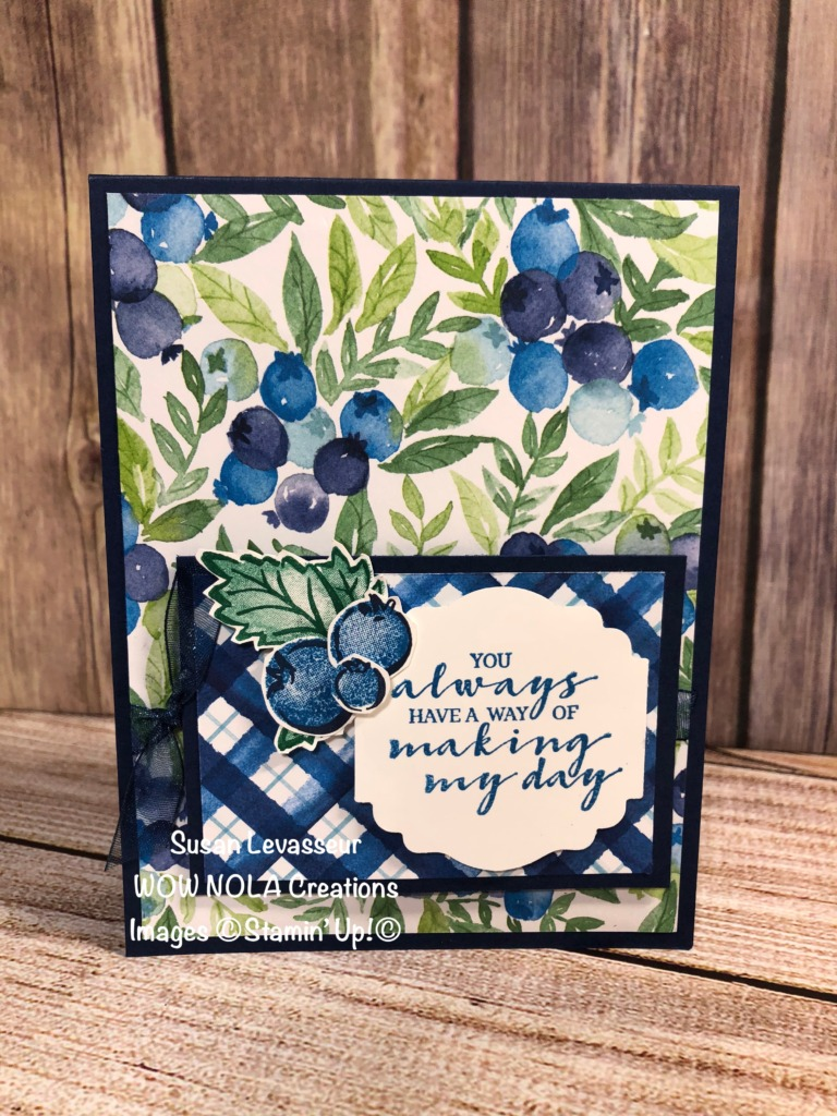 Hope Team Challenge, Susan Levasseur, WOW NOLA Creations, Stampin' Up!