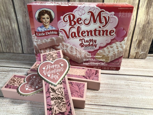 Sweet Valentine Treats, Susan Levasseur, WOW NOLA Creations, Stampin' Up!