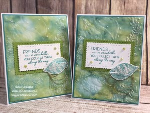 Stampin' Blends Alcohol Technique