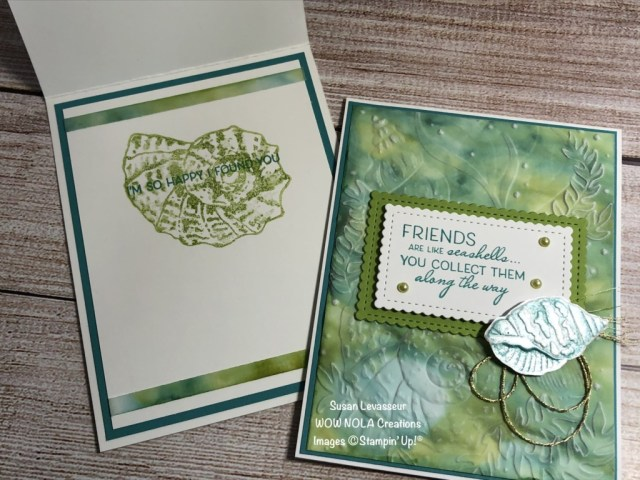 Stampin' Blends Alcohol Technique, Susan Levasseur, WOW NOLA Creations, Stampin' Up!