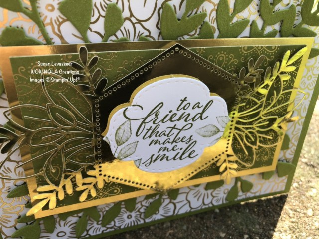 Fun with Forever Fern, Susan Levasseur, WOW NOLA Creations, Stampin' Up!