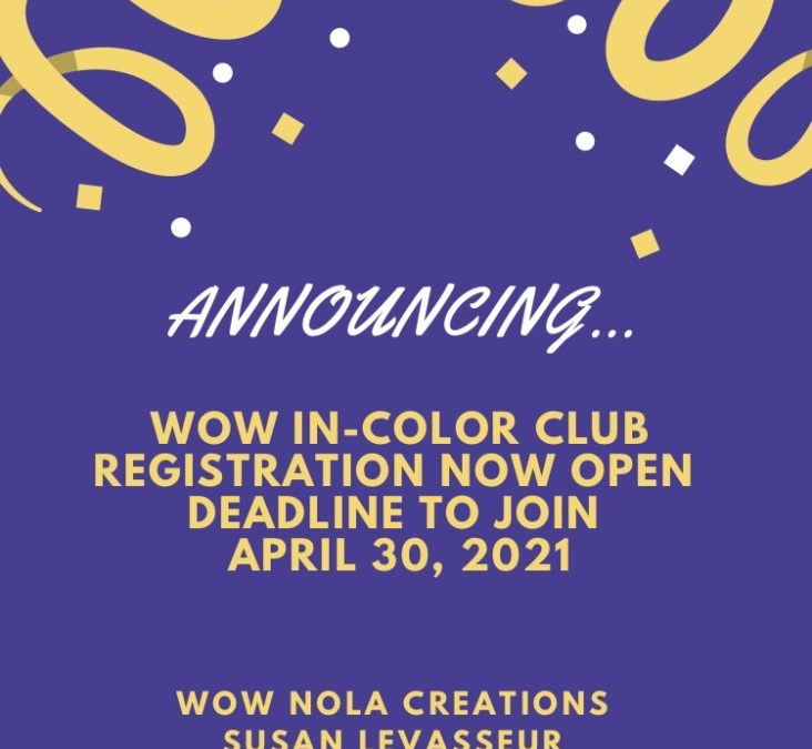 WOW In-Color Club 2021