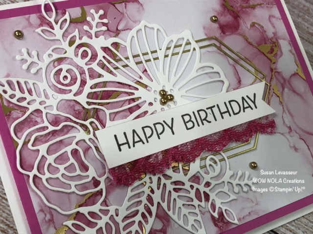 Expressions in Ink, 2 Quick & Easy Cards, Susan Levasseur, WOW NOLA Creations, Stampin' Up!