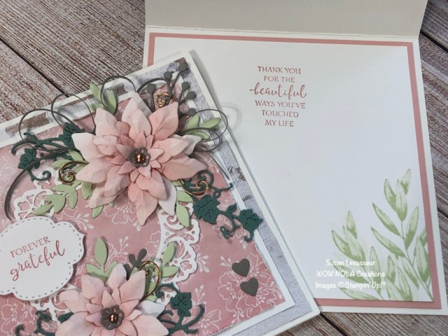 Very Vintage Shabby Chic, Susan Levasseur, WOW NOLA Creations, Stampin' Up!