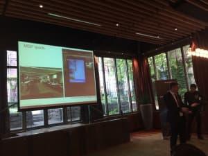 Adam Dorrell, CustomerGauge, sharing examples of NPS surveys self-experienced