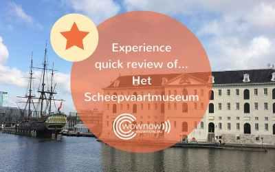 Customer Experience quick review of… Het Scheepvaartmuseum