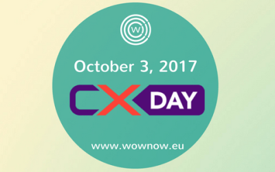 Global CX Day, October 3rd