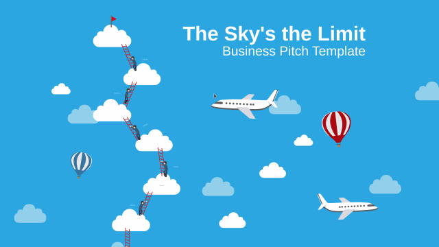 Free prezi Classic Template - The Sky's The Limit