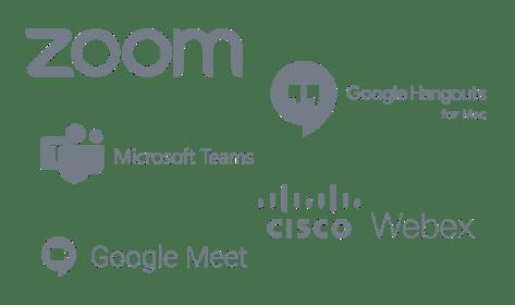 Videoconference tools for Prezi Video