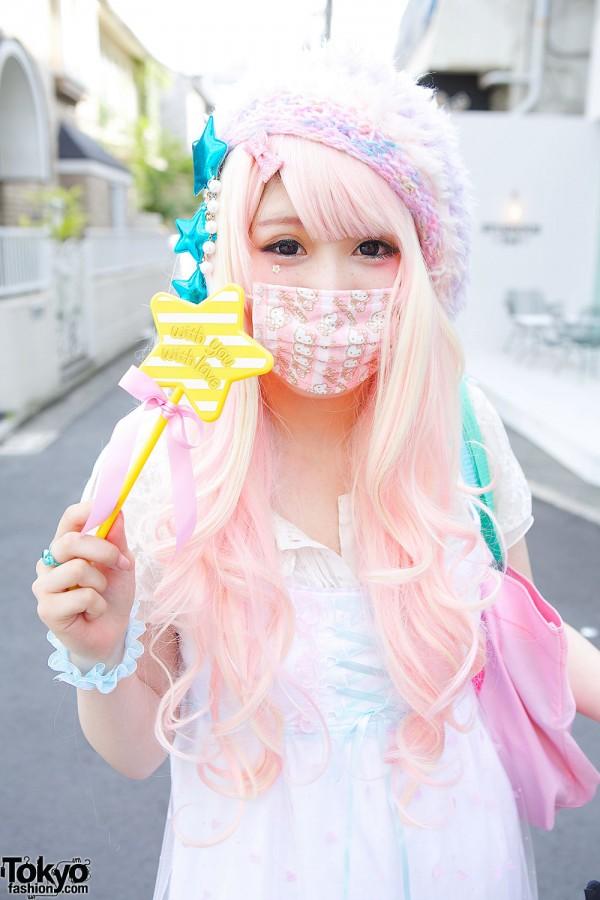 japanese girl fashion mask