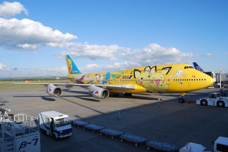 Pokemon Plane   Avión Pokemón
