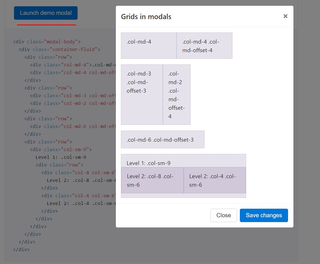 Bootstrap Modal Events