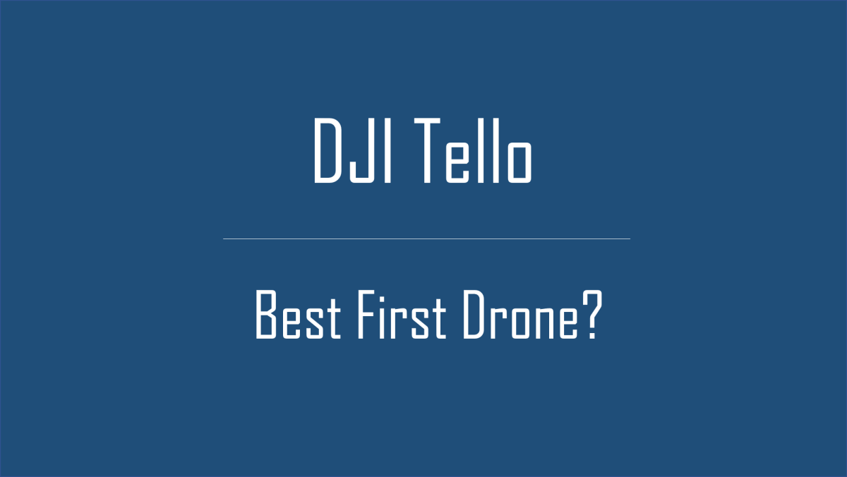 Limitations of DJI Tello