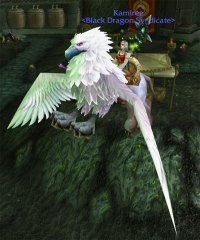 Snowy Gryphon - Flying Mount