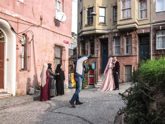 Foto di matrimonio a Balat.