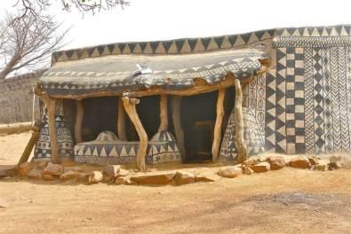 Tiébélé village - in Burkina Faso (3)