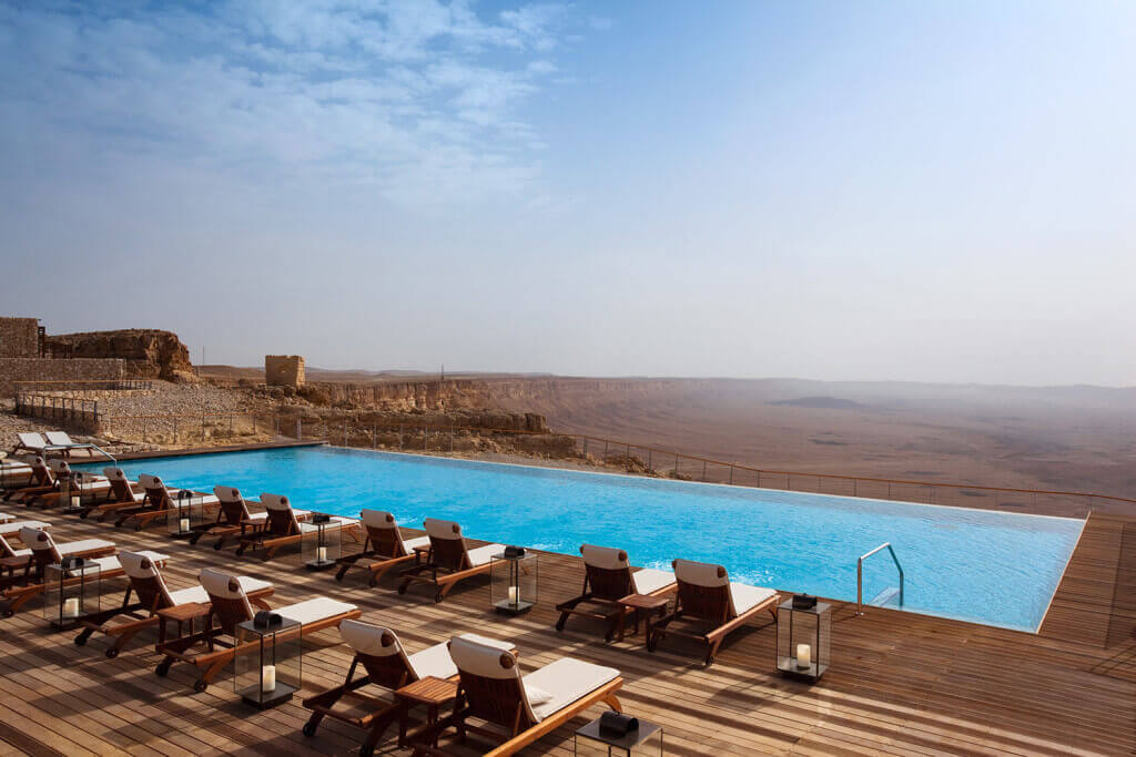 1. Beresheet Hotel (Mitzpe Ramon, Israel)