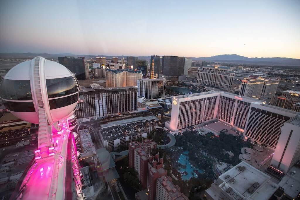 10. High Roller (Las Vegas, USA) - Source: Flicker/Robert Pernett