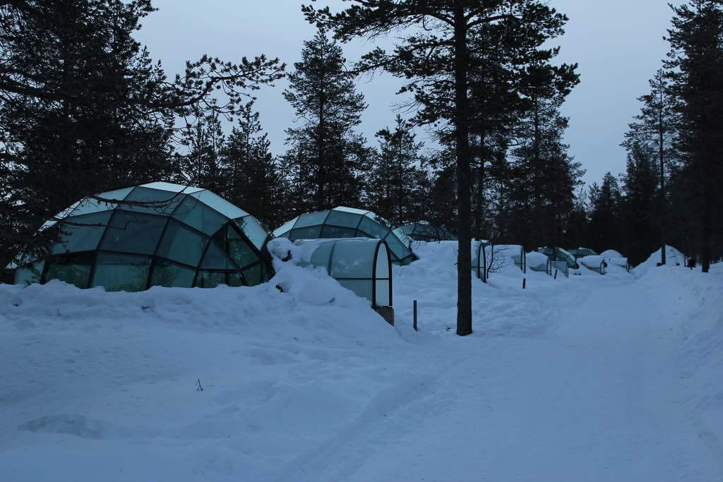 Kakslauttanen Arctic Resort - by Romain Cloff:Flickr