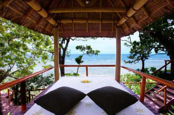 Waking up in paradise - Namale Resort & Spa Fiji 2015