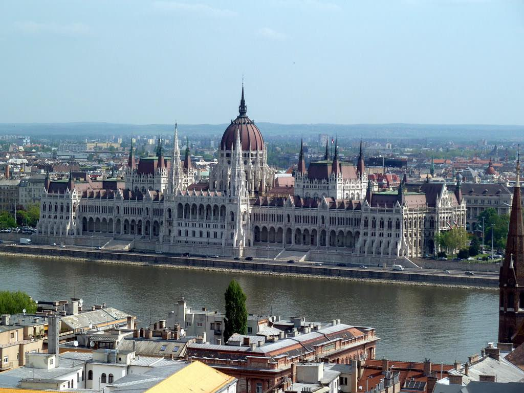 Hungarian Parliament, Budapest - by Alistair Young:Flickr