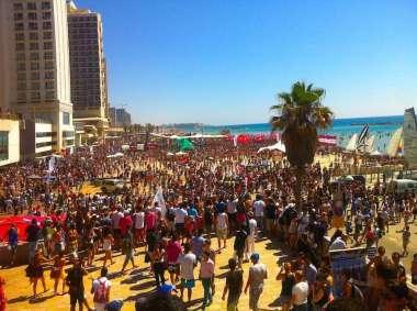Tel Aviv Beach - Beach Party