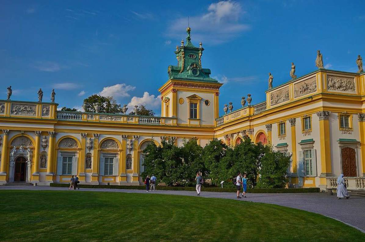Wilanow Palace, Warsaw - by Artur Malinowski:Flickr