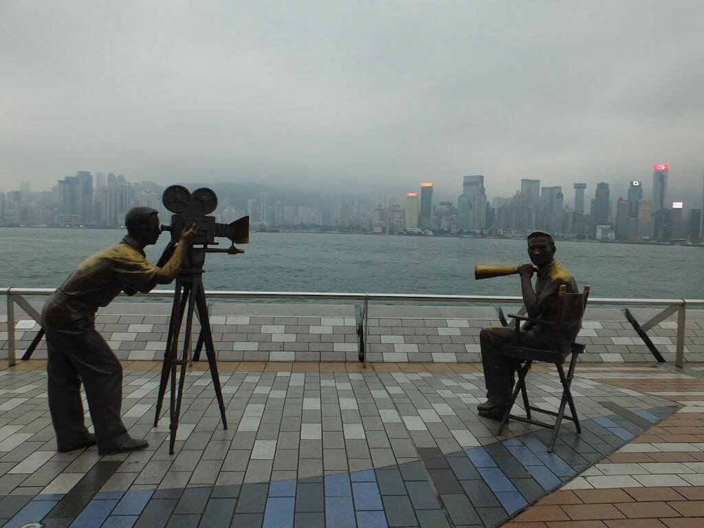 Avenue of Stars, Hong Kong - by Maureen Didde - maureen lunn:Flickr