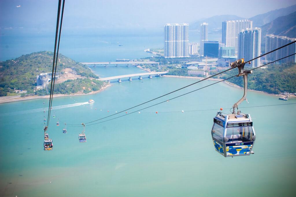 Ngong Ping Cable Car, Hong Kong - by Alexander Savin:Flickr