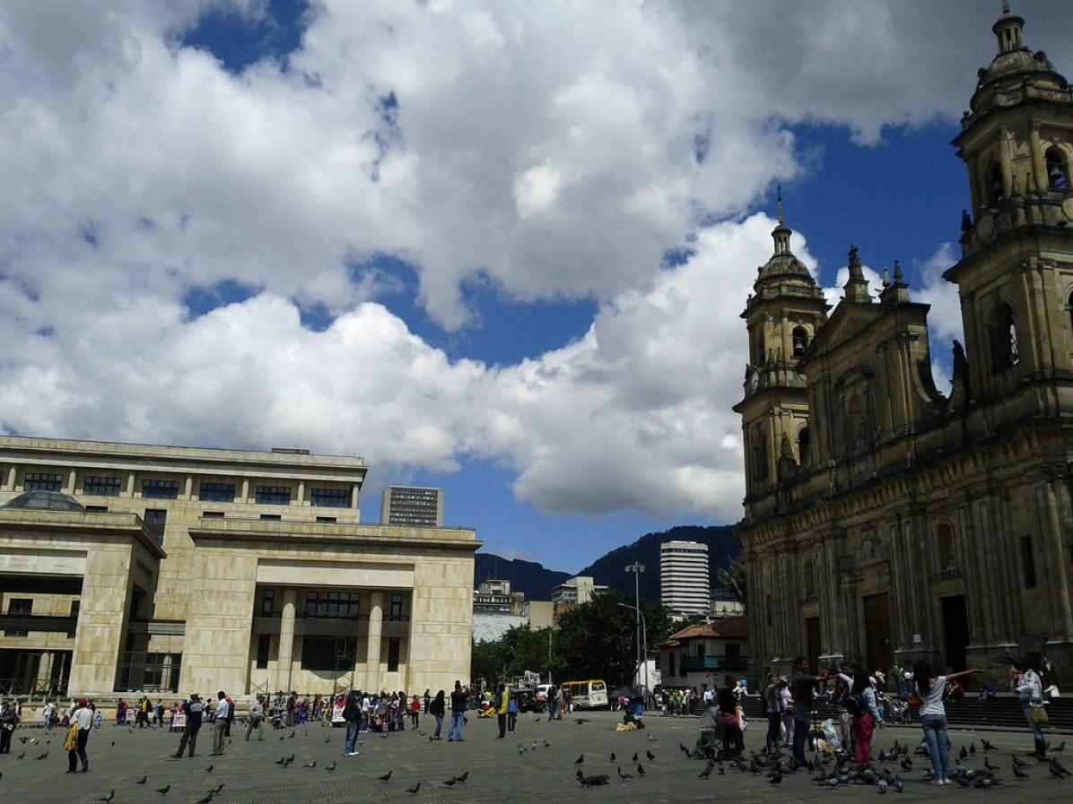Plaza de Bolivar, Bogota - by Chi-Chi Tschang:Flickr