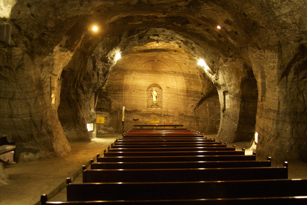 Salt Cathedral, Zipaquira - by McKay Savage:Flickr