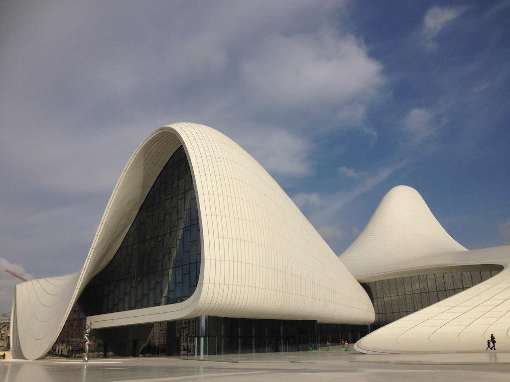 Heydar Aliyev Center, Baku - by G Travels:Flickr