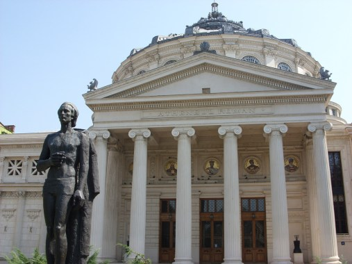 Romanian Athenaeum, Bucharest - by Sorina:Flickr