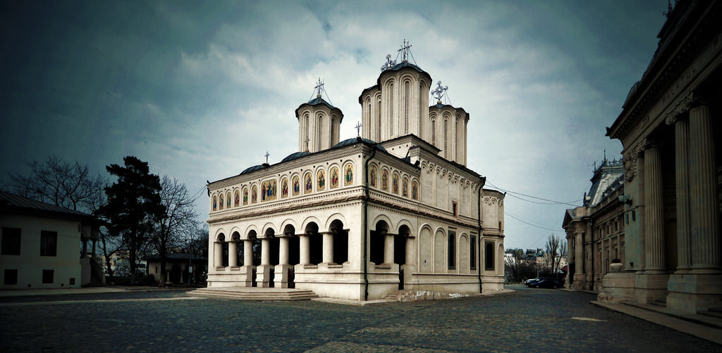 Romanian Patriarchal Cathedral, Bucharest - by fusion-of-horizons:Flickr