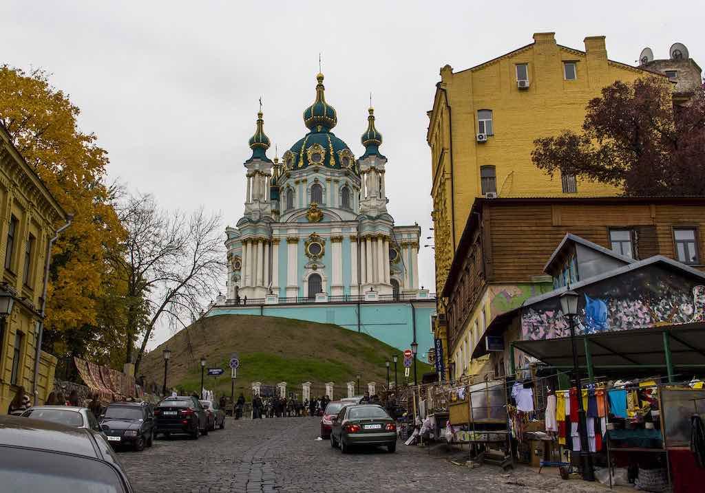 St Andrew's Church, Kiev - Antony Stanley - gripso_banana_prune:Flickr