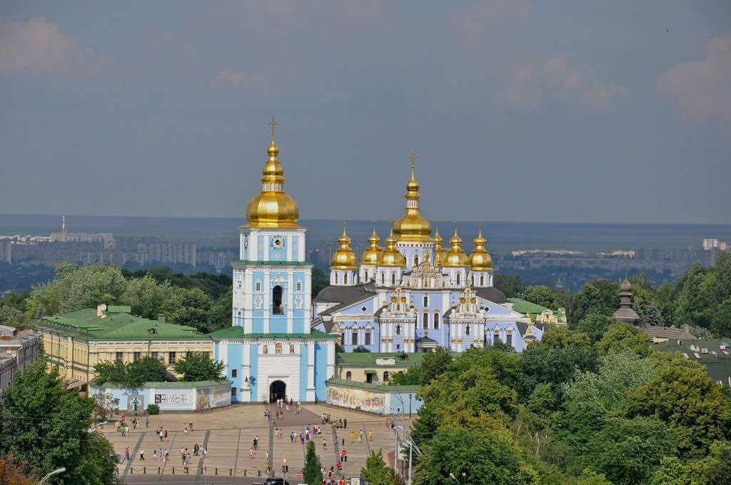 St Michael's Monastery, Kiev - by Jennifer Boyer - Anosmia:Flickr