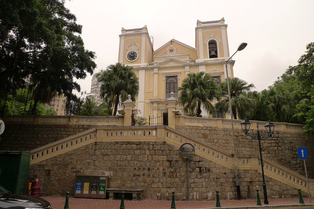 St. Lawrence Church, Macau - by Blowing Puffer Fish:Flickr