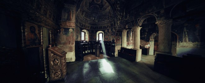 Stavropoleos Monastery, Bucharest - by fusion-of-horizons:Flickr