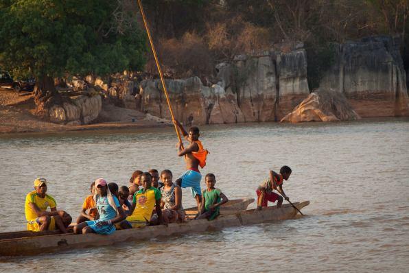 Tsiribihina River, Madagascar - by Michael Sale:Flickr
