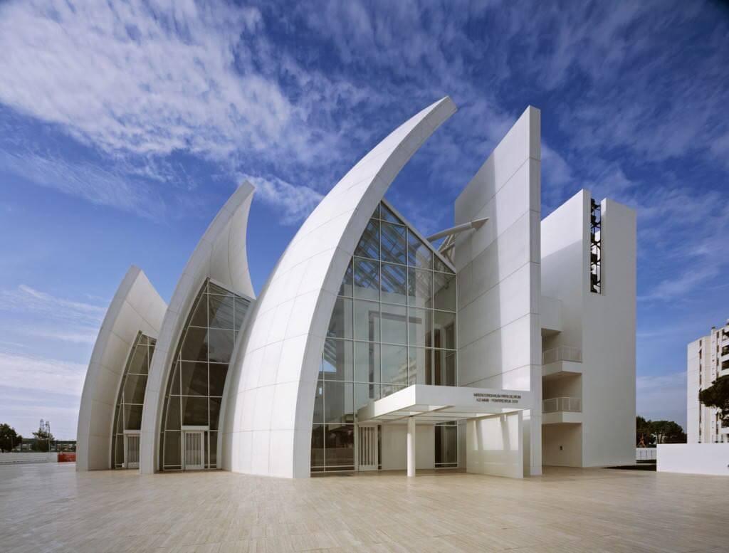 Jubilee Church, Rome - by Richard Meier