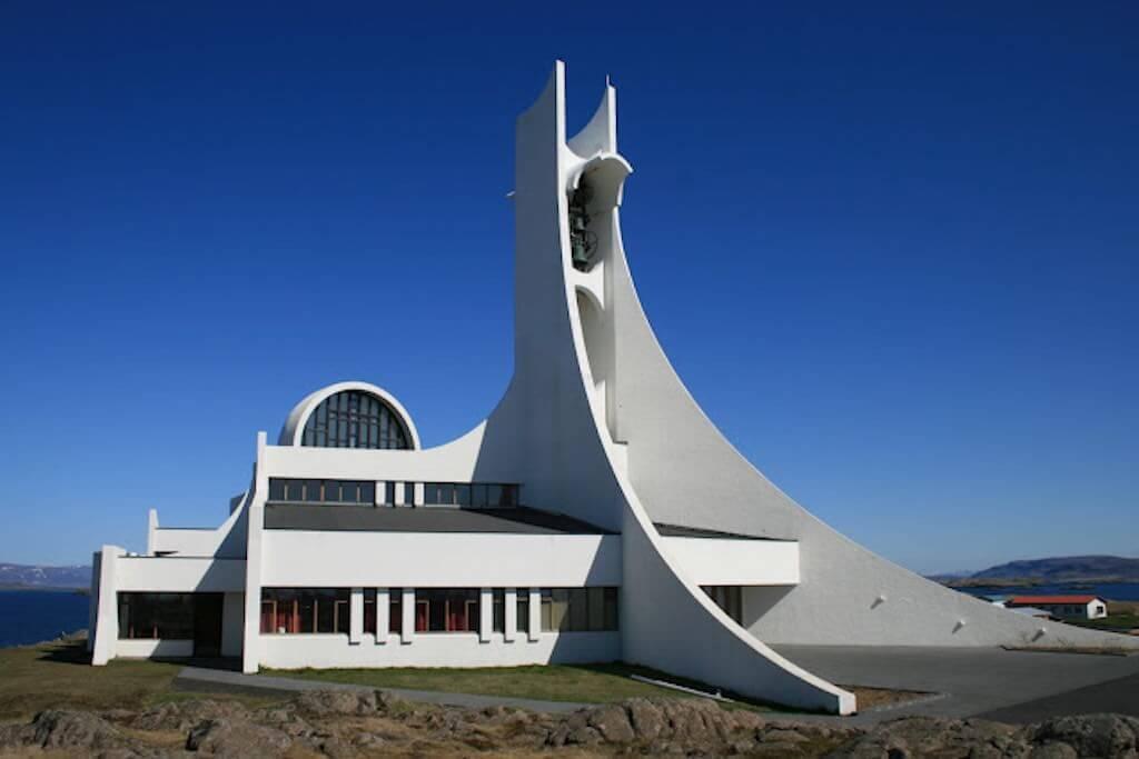 Stykkishólmskirkja Church, Iceland - by www.Stykkishólmskirkja.is