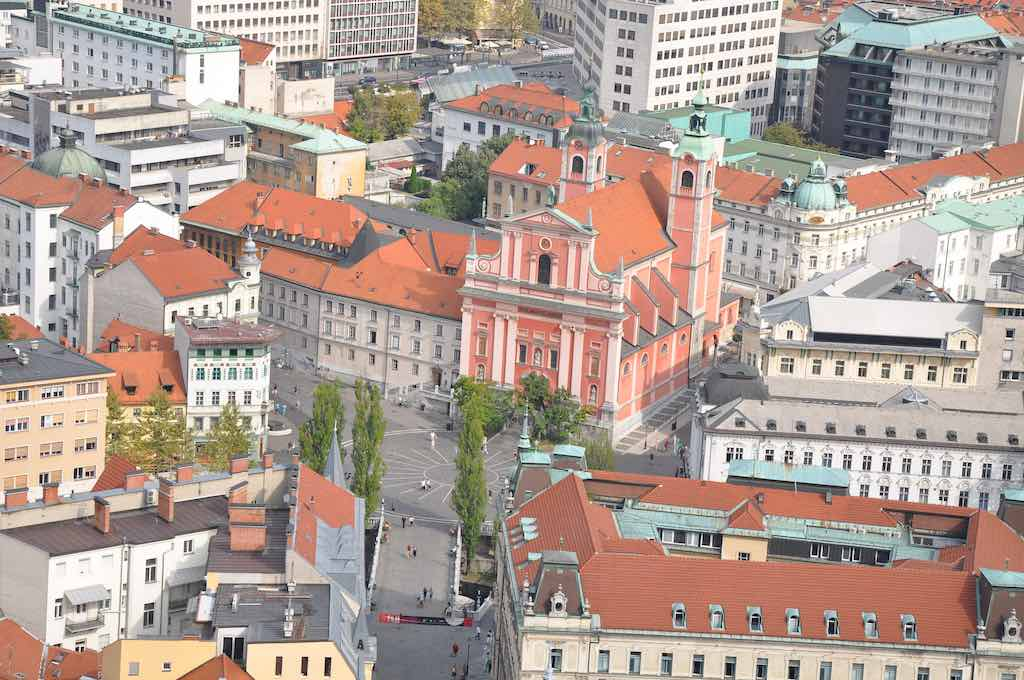 Preseren Square, Ljubljana - by Jorge Láscar:Flickr