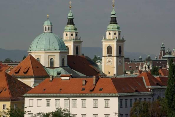 St. Nicholas Cathedral, Ljubljana - Eigirdas:Flickr