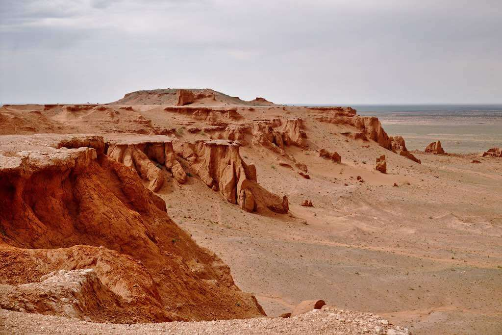 Flaming Cliffs, Mongolia - by Delphinidaesy:Flickr